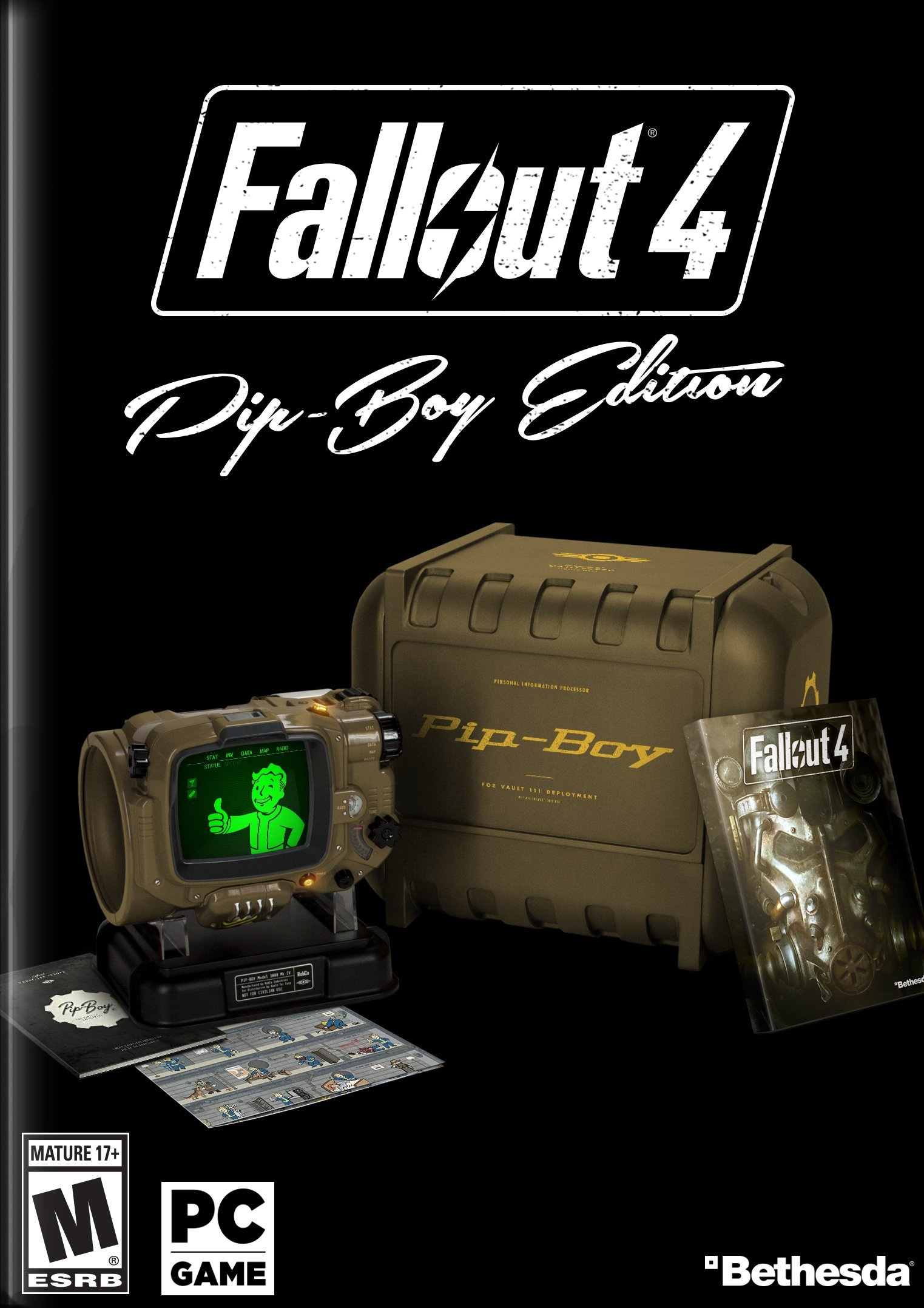 Amazon has the fallout 4 pip-boy edition back in stock for pc.
