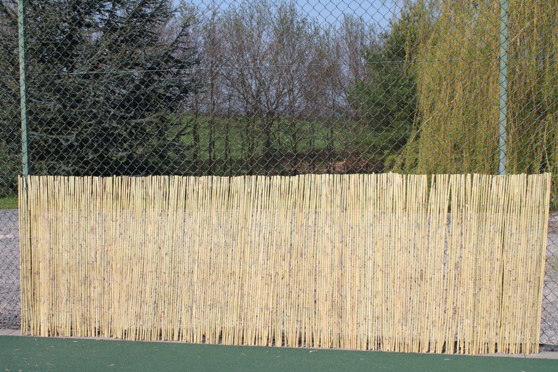 Sichtschutz Sichtschutz Bambus Rollen 1 2 m hoch und 3 8 m lang