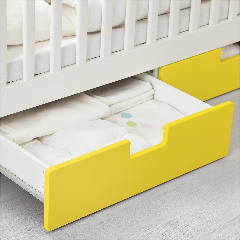 IKEA STUVA - Cuna con cajones amarillas: Amazon.es: Hogar