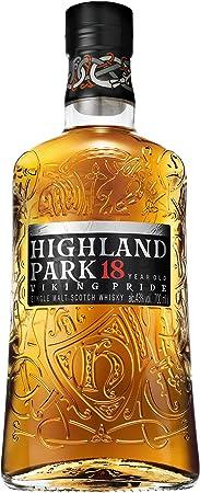 Highland Park Viking Pride 18 Años Single Malt Whisky Escoces, 43% - 700 ml
