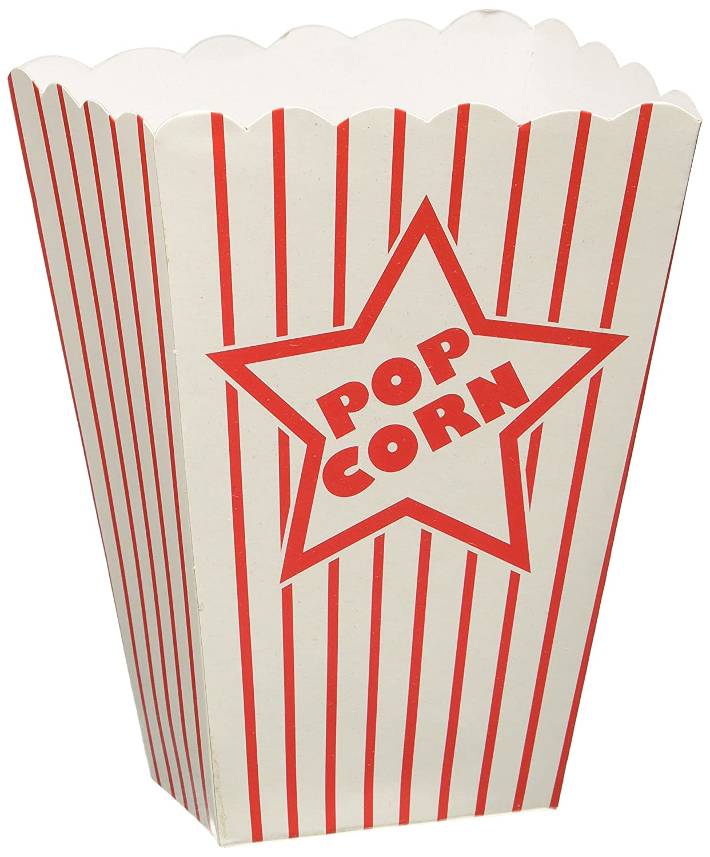 Paper Popcorn Boxes 8//Pkg The Beistle Company 57450