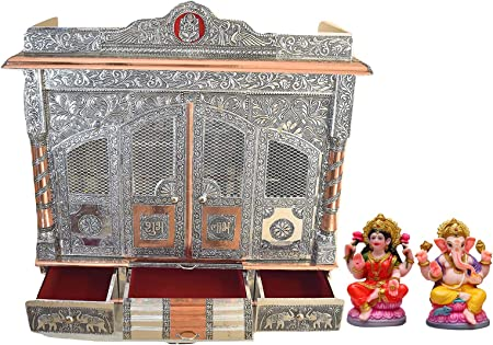 Makan Pooja Mandir for Home (Indian Hindu Temple for House) 32