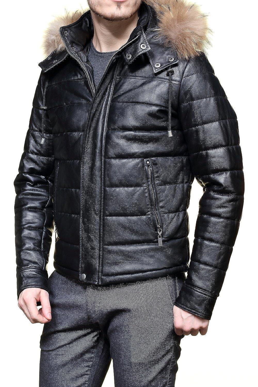 Taille En 80 Noir Cuir Xl Blouson Azzaro Couleur Loc403 URw507q