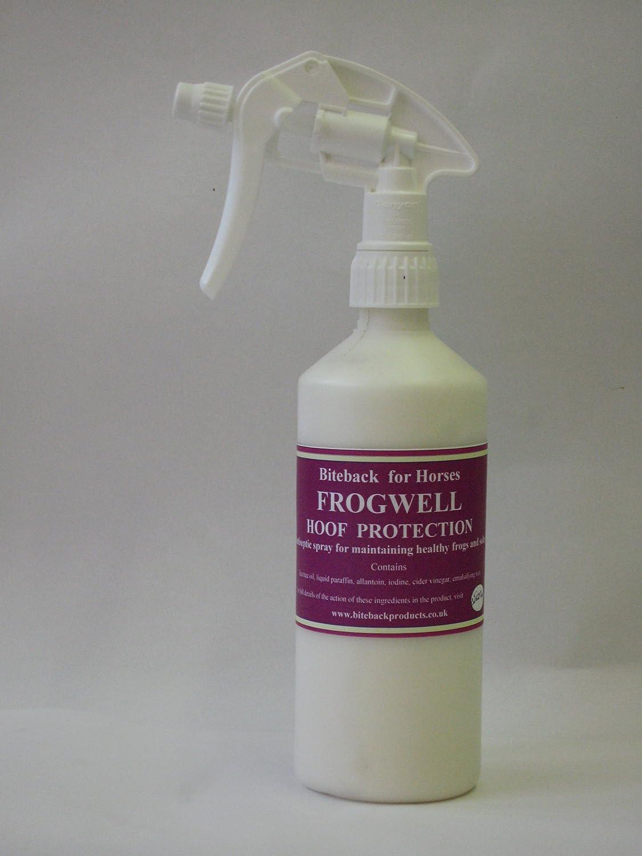 Biteback caballo 'frogwell 'tm Natural Antisé ptico en spray para saludable cascos 250 ml Biteback Products