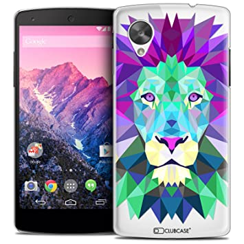 Caseink - Carcasa Funda - Funda Nexus 5 [Crystal HD Polygon ...