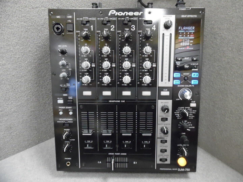 Pioneer DJM750BK - Djm-750 k negro mezclador 4 canales: Amazon.es ...