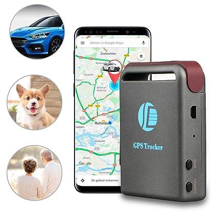 Amazon.com: EEEKit - Localizador de rastreo de coche con GPS ...