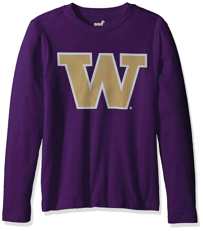 大注目 NCAA Washington B01CH4H2UM Huskies 12 PrimaryロゴRP長袖Tシャツ, (10 Medium (10 – 12 )、Regalパープル B01CH4H2UM, 中古パソコンのUSED-PC:a6f007c8 --- a0267596.xsph.ru