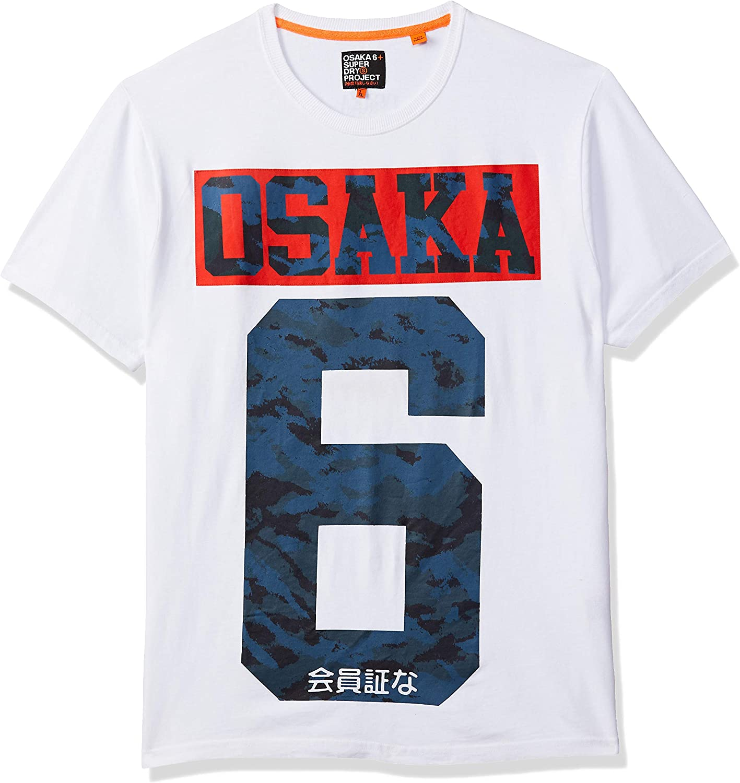 T Shirt Superdry Osaka 6 Camo T Blanc XXL Blanc: