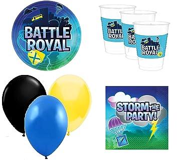 battle royal cumpleaños - Kit de cumpleaños Videojuegos - 8 ...
