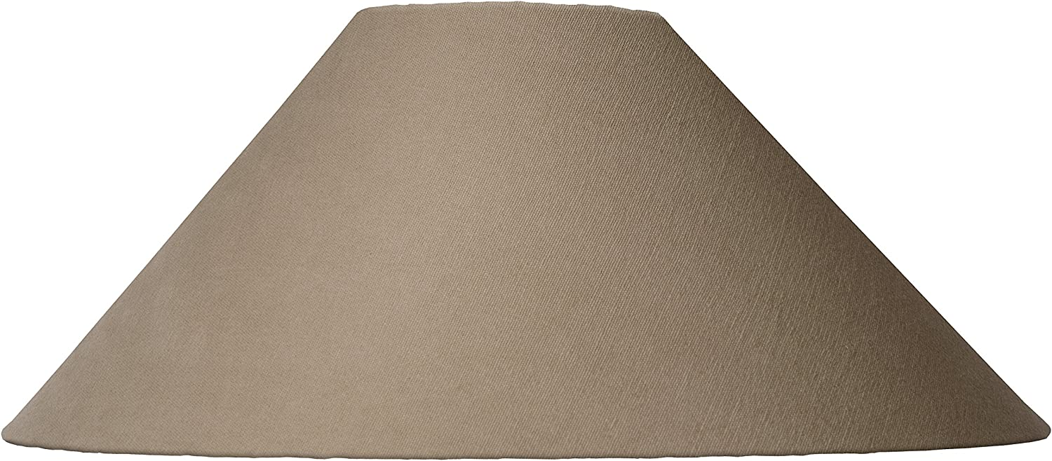 Lucide SHADE Abat Jour Lampe /Ø 50 cm Taupe