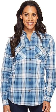 Carhartt Womens Huron Shirt, Ocean Blue, X-Small: Amazon.es: Ropa y accesorios
