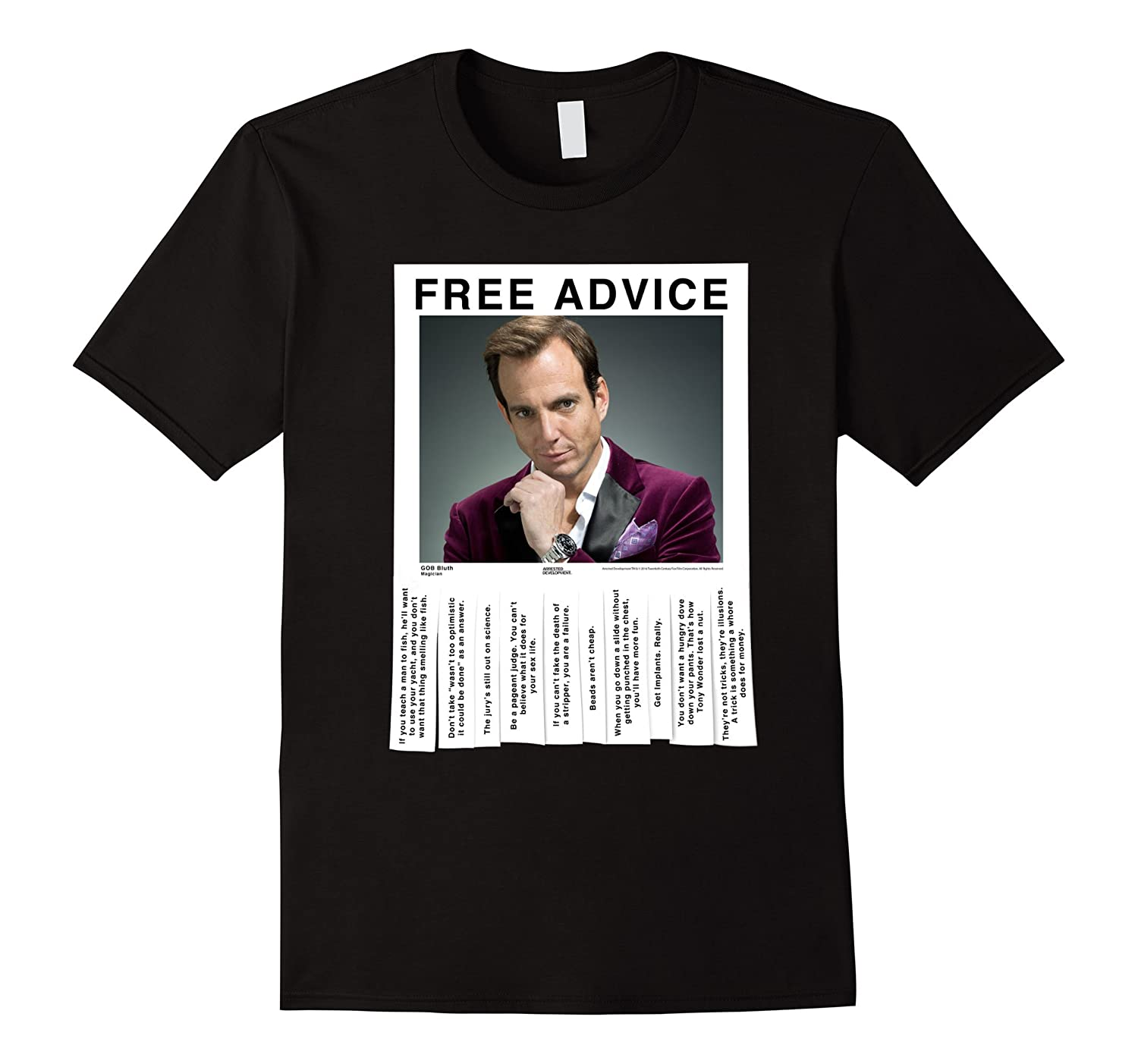 Arrested Development Free Advice Gob-TD