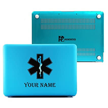 Amazon Phonetatoos Medical Symbol Custom Name Blue