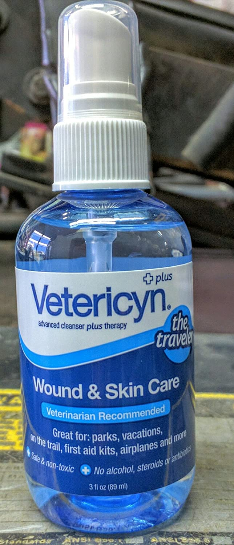 Vetericyn Plus Wound & Skin Care Spray 3 oz