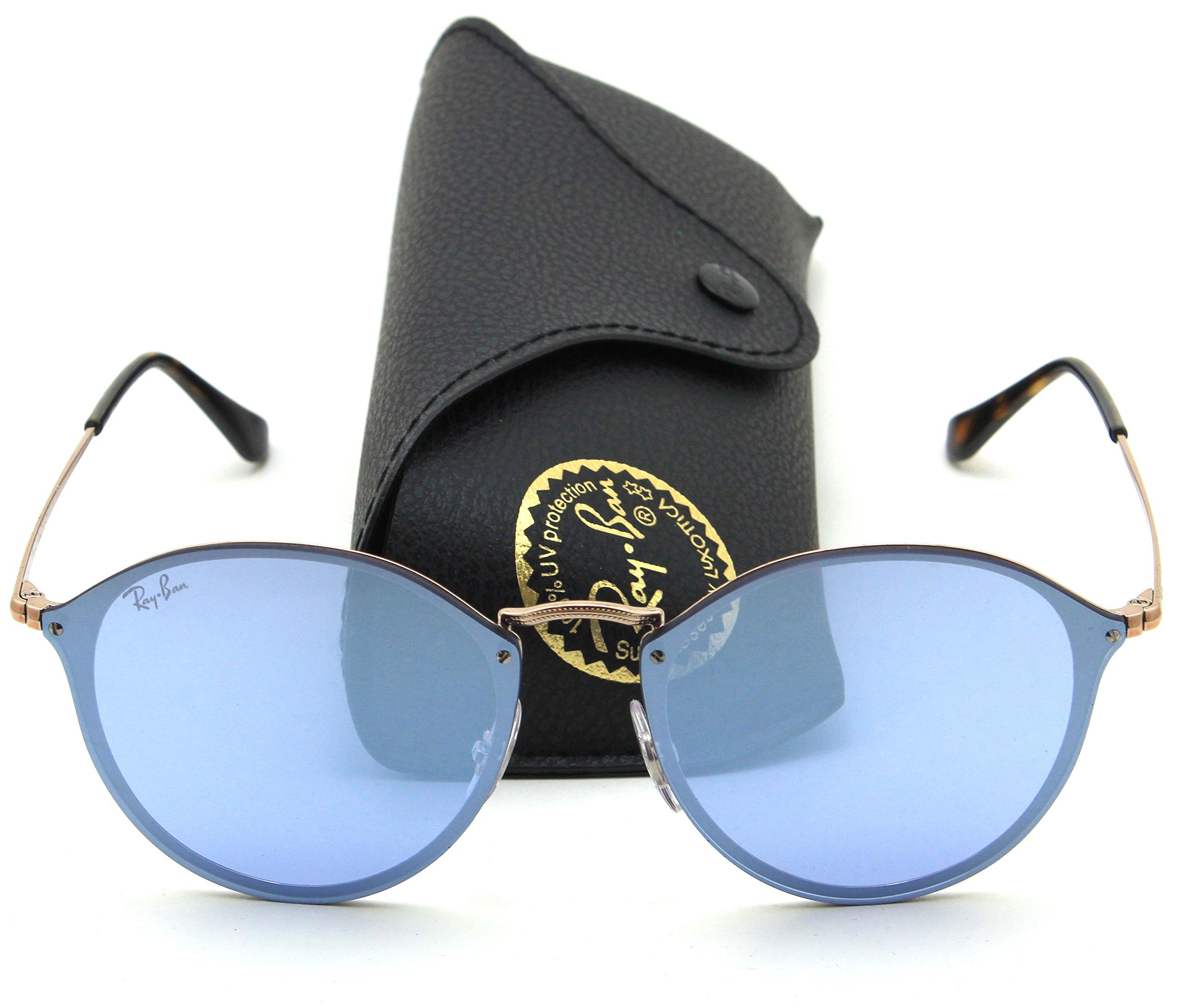 Ray-Ban RB3574N BLAZE ROUND Mirror Sunglasses 90351U, 59mm