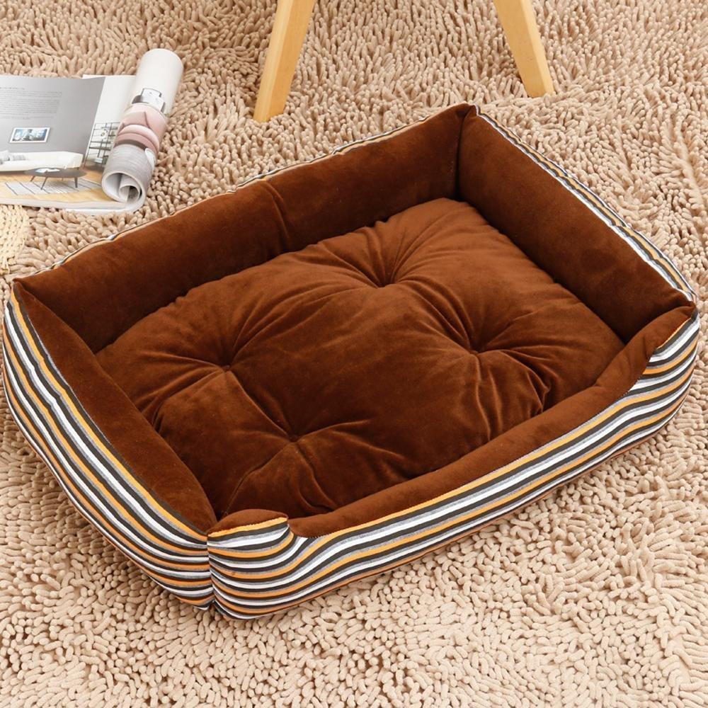 C 70x55cm C 70x55cm YunYilian Pet Bolster Dog Bed Comfort Kennel Dog Bed Dog mat Pet Supplies Pet Litter nest cat Nest (color   C, Size   70x55cm)