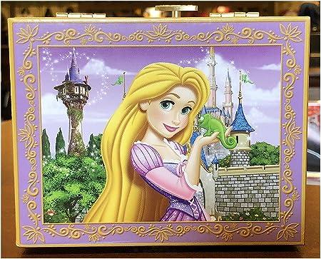Parques de Disney Bella Rapunzel musical joyería caja música I ver ...