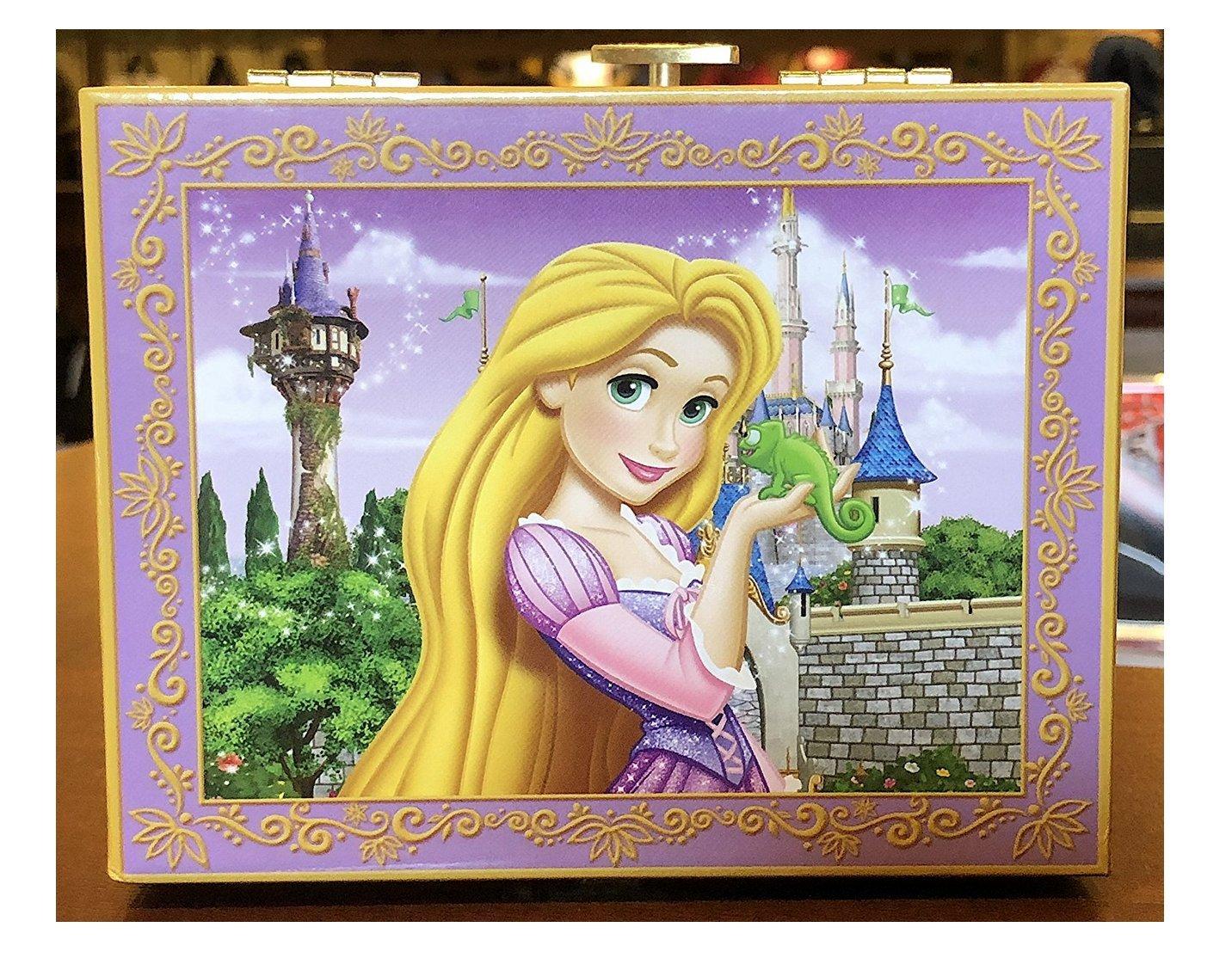 Disney Parks Beautiful Rapunzel Musical Jewellery Box Music I See the Light   B079NSYVHR