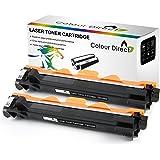 2 X Colour Direct Compatible Cartucho de tóner Reemplazo por Brother TN1050 - DCP-1510 DCP-1512 DCP-1610W DCP-1612W HL-1110 HL-1112 HL-1210W HL-1212W MFC-1810 MFC-1910 MFC-1910W Impresoras