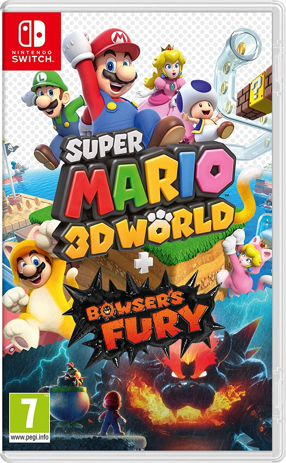 Super Mario 3D World + Bowser's Fury - Switch | Nintendo EAD. Programmeur