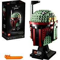 LEGO Star Wars Boba Fett Helmet Building Kit, Cool, Collectible Star Wars Character Building Set