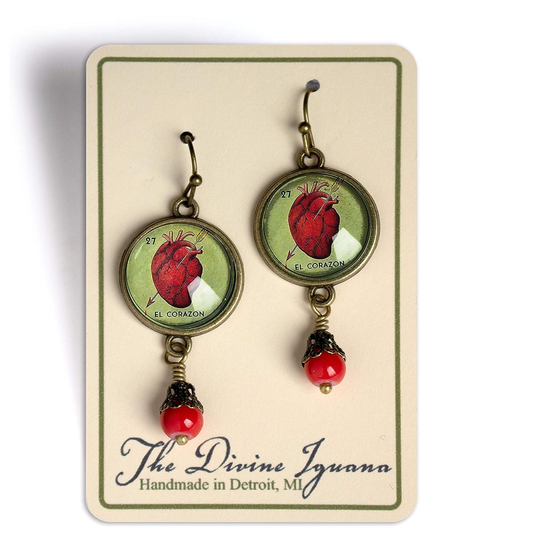 Loteria El Corazon Earrings