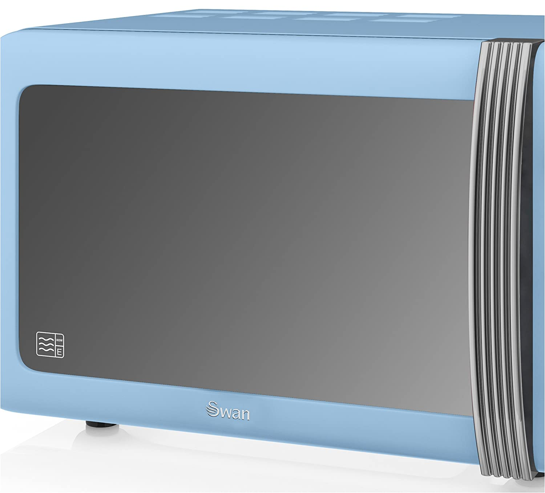 Swan Sm22130bln Retro Mikrowelle Blau Sm22130bln