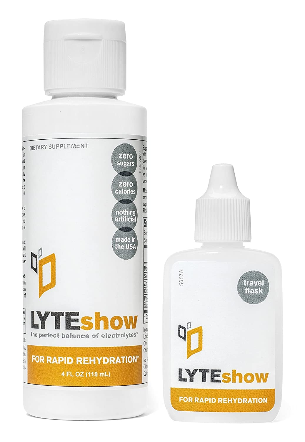 LyteShow - Electrolyte Concentrate for Rapid Rehydration - 40 Servings (With Magnesium, Potassium, Zinc) by drinkwel B00EISFBYA