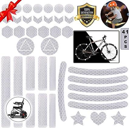 Pegatinas Reflectantes Casco Moto,Pegatinas Reflectantes Bicicleta ...