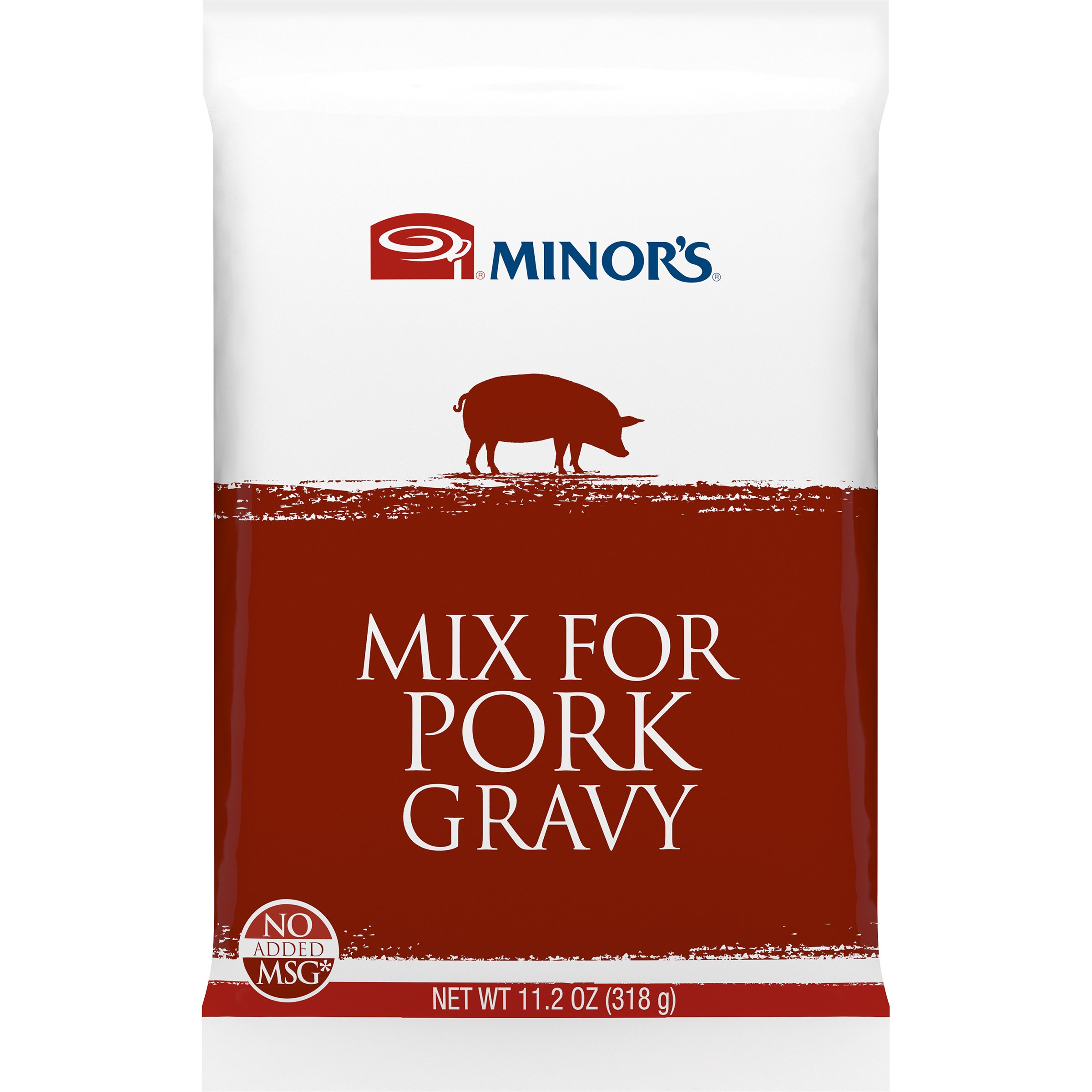 Minors Gravy Mix, Pork, 11.25 Ounce