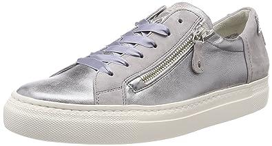 Paul Green Damen Vintage Nappa Sz Silver Cloud Sneaker - sommerprogramme.de a8908be2e6