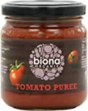 Biona Organic Tomato Puree 200 g (Pack of 12)