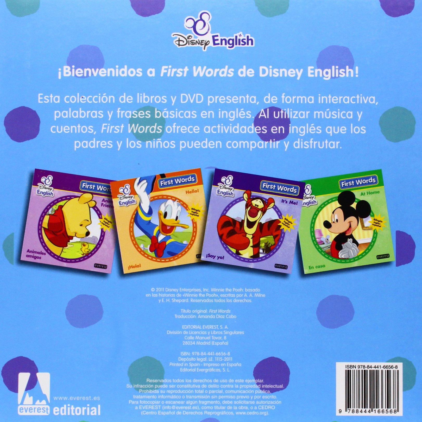 Primeras palabras=First words. Caja: Amanda, (trad.) Walt Disney Company ; Díaz Cobo: 9788444166568: Amazon.com: Books