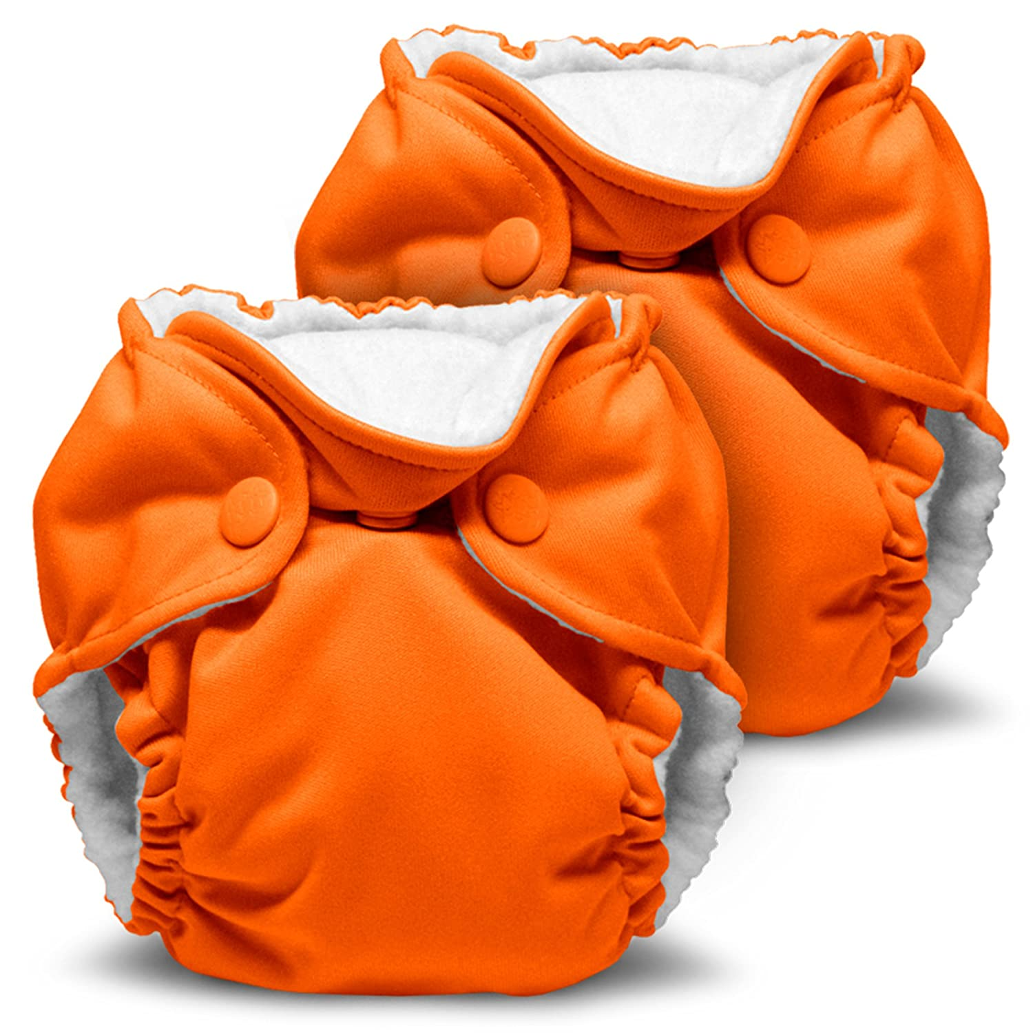 Lil Joey 2 Pack All in One Cloth Diaper, Orchid Diapering Kanga Care KRLILJSOS-S030