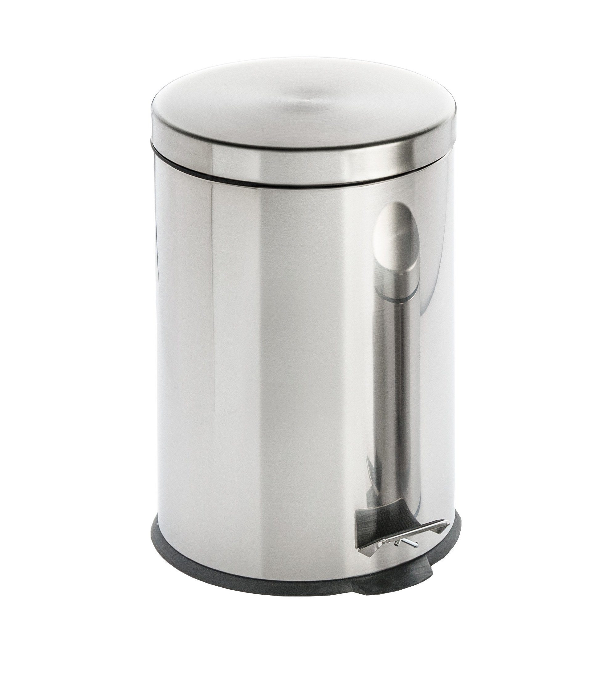 Cooks on Fire Trash Bin Stainless Steel 12L/3 Gallon, , Silver