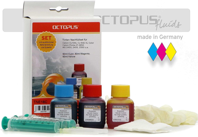 150 ml tintas Set de relleno para cartuchos de impresora CANON CL ...