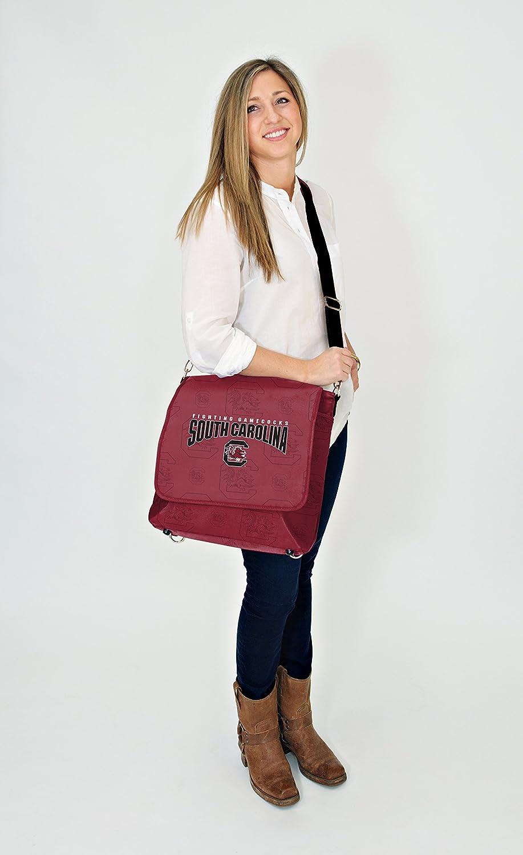 Lil Fan Diaper Messenger Bag NCAA College South Carolina Gamecocks