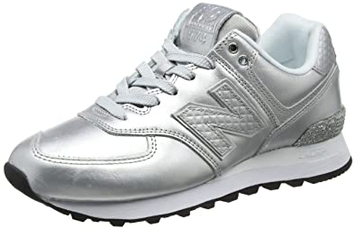 new balance donna silver metallic