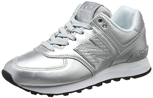 New Balance 574v2 Glitter Pack, Zapatillas para Mujer