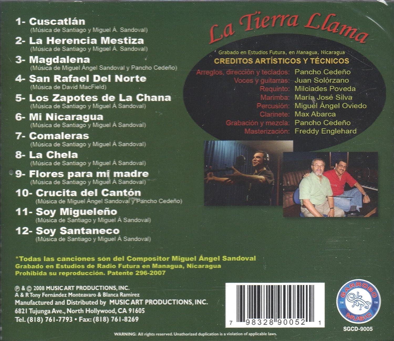 Juan Solorzano, Miguel Angel Sandoval - La Tierra Llama - Amazon.com Music