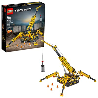 LEGO Technic Compact Crawler Crane 42097 Building Kit (920 Pieces): Toys & Games