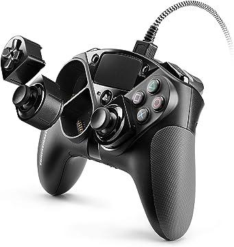 Amazon | 【PlayStation4 公式ライセンス商品】 Thrustmaster eSwap Pro Controller PS4 コントローラー キー配置/割当のカスタマイズ可能 ゲームパッド PC 対応 【日本正規代理店保証品】 4160729 | スラストマスター | パソコン・周辺機器 通販