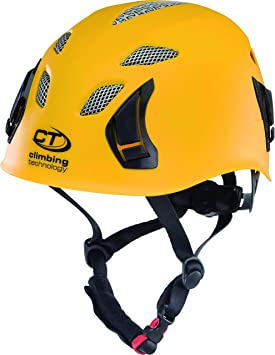 Climbing Technology grosor casco de escalada/rafting-casco, amarillo