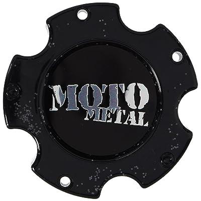 Moto Metal MO909 MO909B5127B 5x127 5x5 Gloss Black Center Cap: Automotive