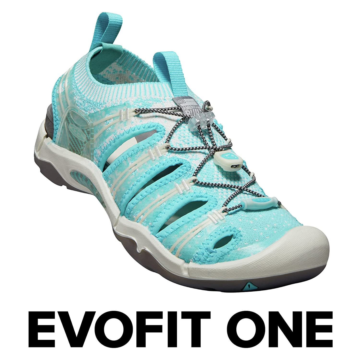 KEEN Women's EVOFIT ONE Water Sandal for Outdoor Adventures B071Y44HVV 10.5 M US|Light Blue