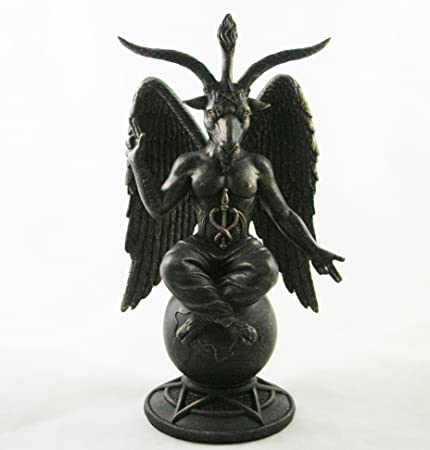 Pacific Giftware Baphomet Figurine Satanic Demon Occult Goat of Mendes Statue Pagan