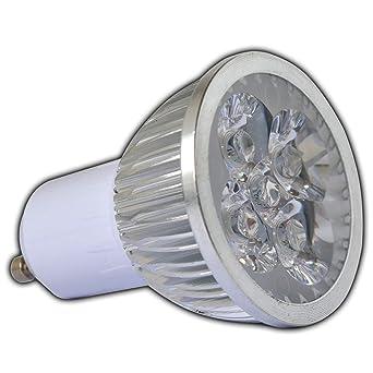 GU10 LED 4 Watt (Hochwertige Verarbeitung) Warmweiß Spot 60° Grad  Energiesparlampe Lampe Strahler