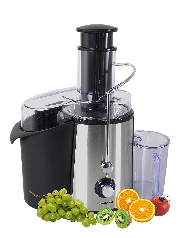 SUNTEC Fruit Juicer JUI-9738 [Centrifugeuse puissante pour fruits entiers, rendement maximum en jus, nettoyage facile, max. 700 watt] Suntec Wellness