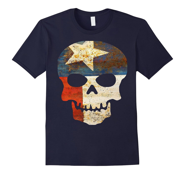Texas Flag Skull Home Shirt Men And Women-CD